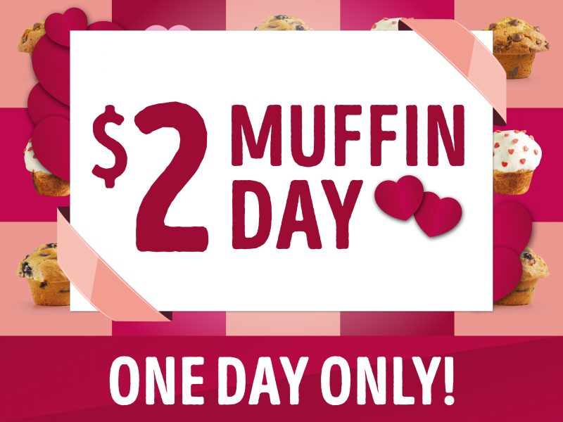 Muffin Break $2 Muffin Day
