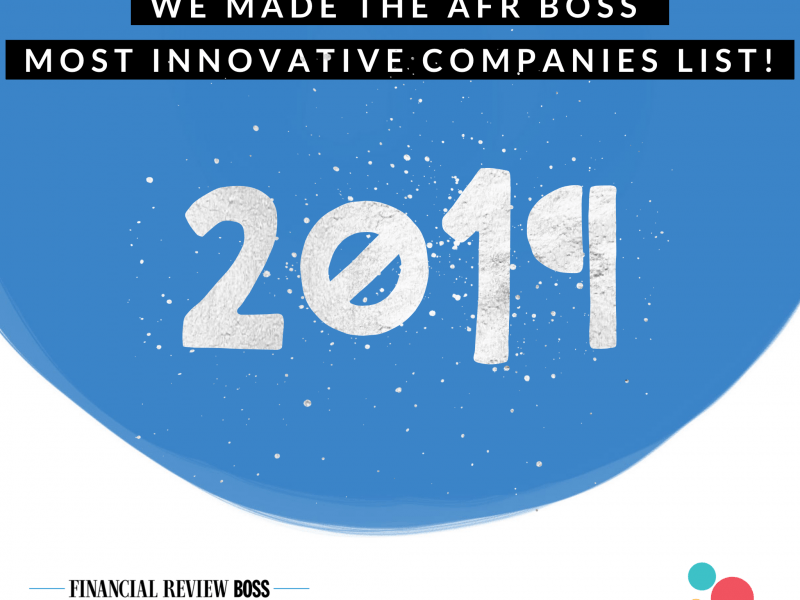 AFR Most Innovative Companies List 2019