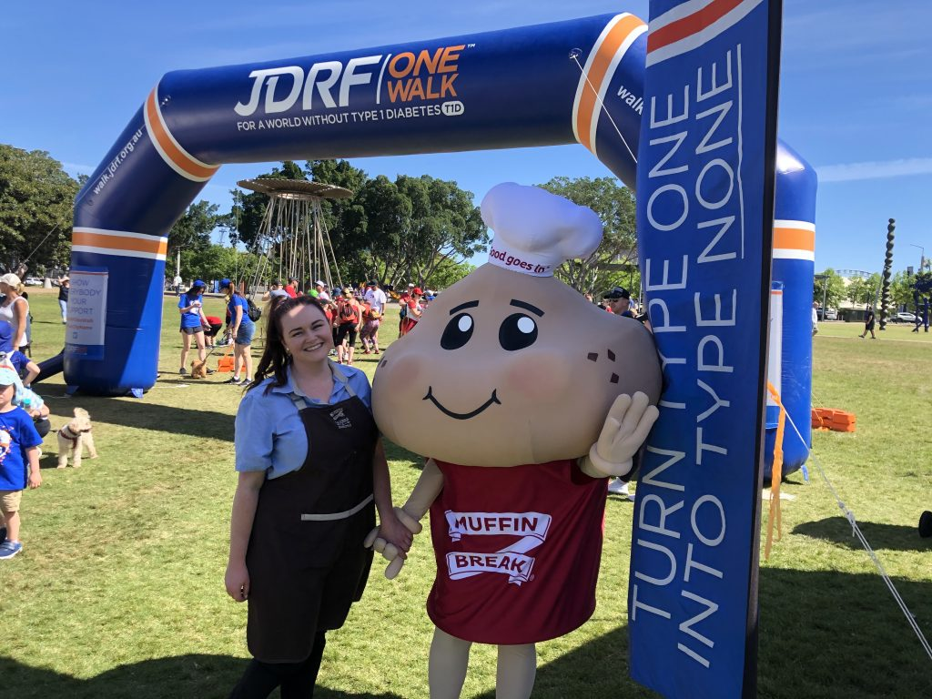 Muffin Man at the JDRF One Walk