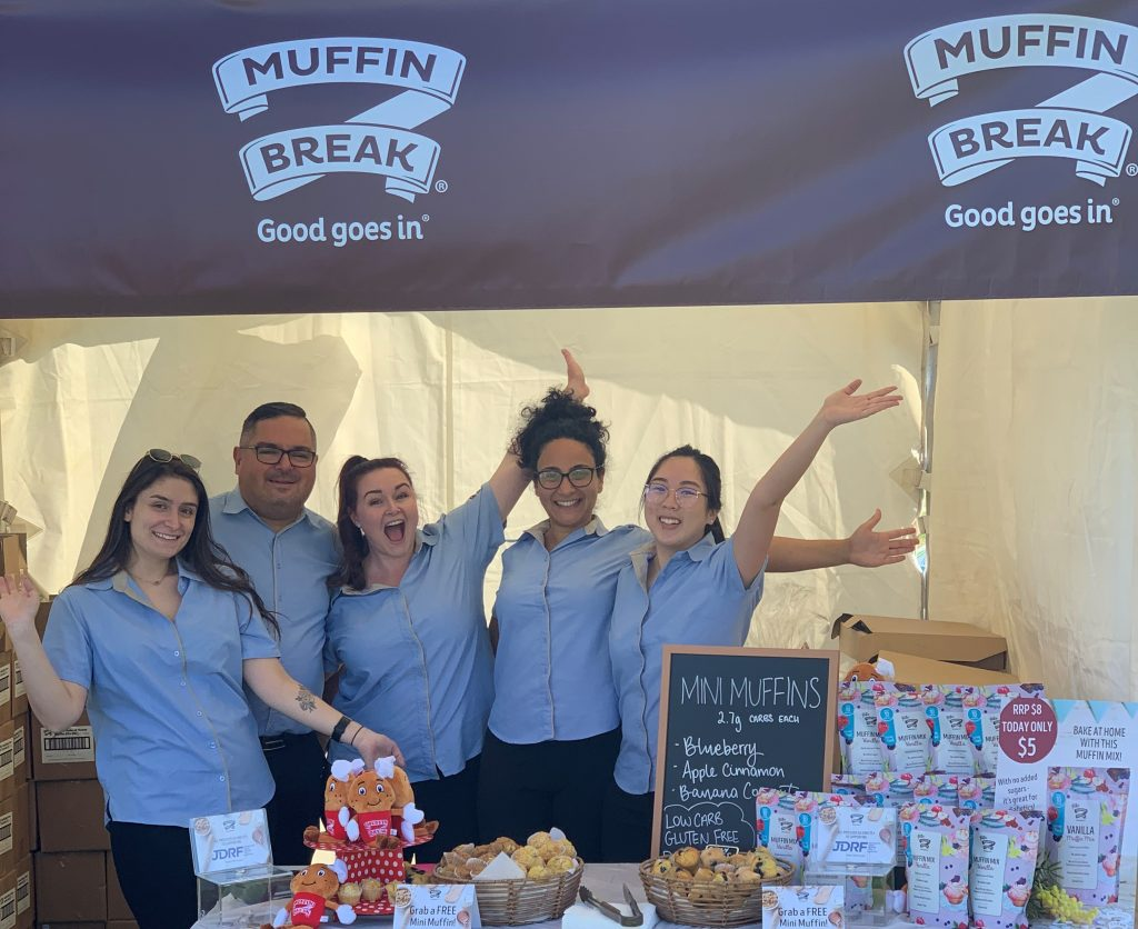The Muffin Break team at the JDRF One Walk