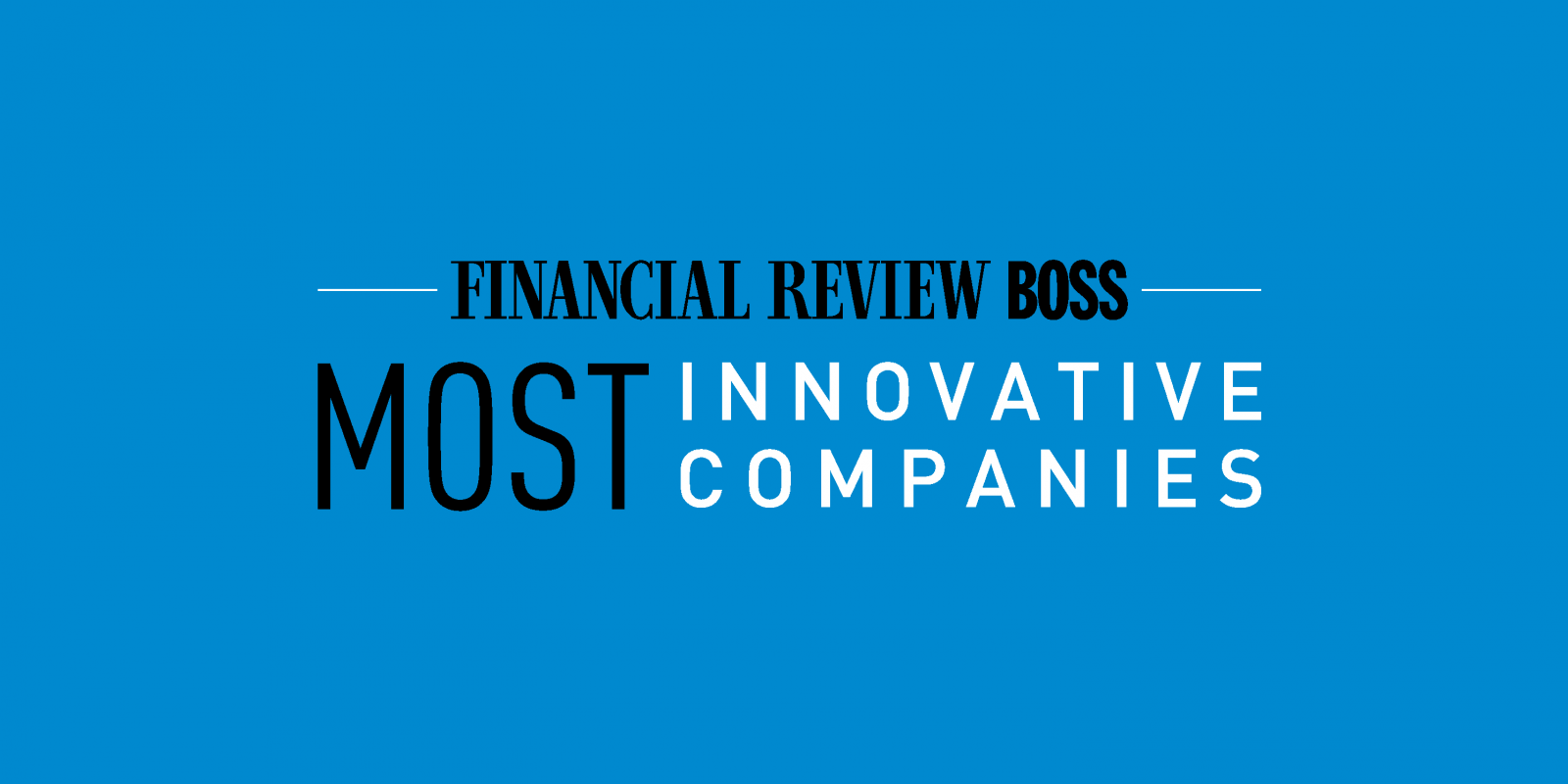 AFR Most Innovative Companies