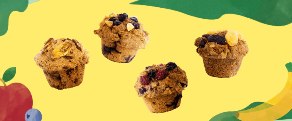 Vegan Muffins available at Muffin Break