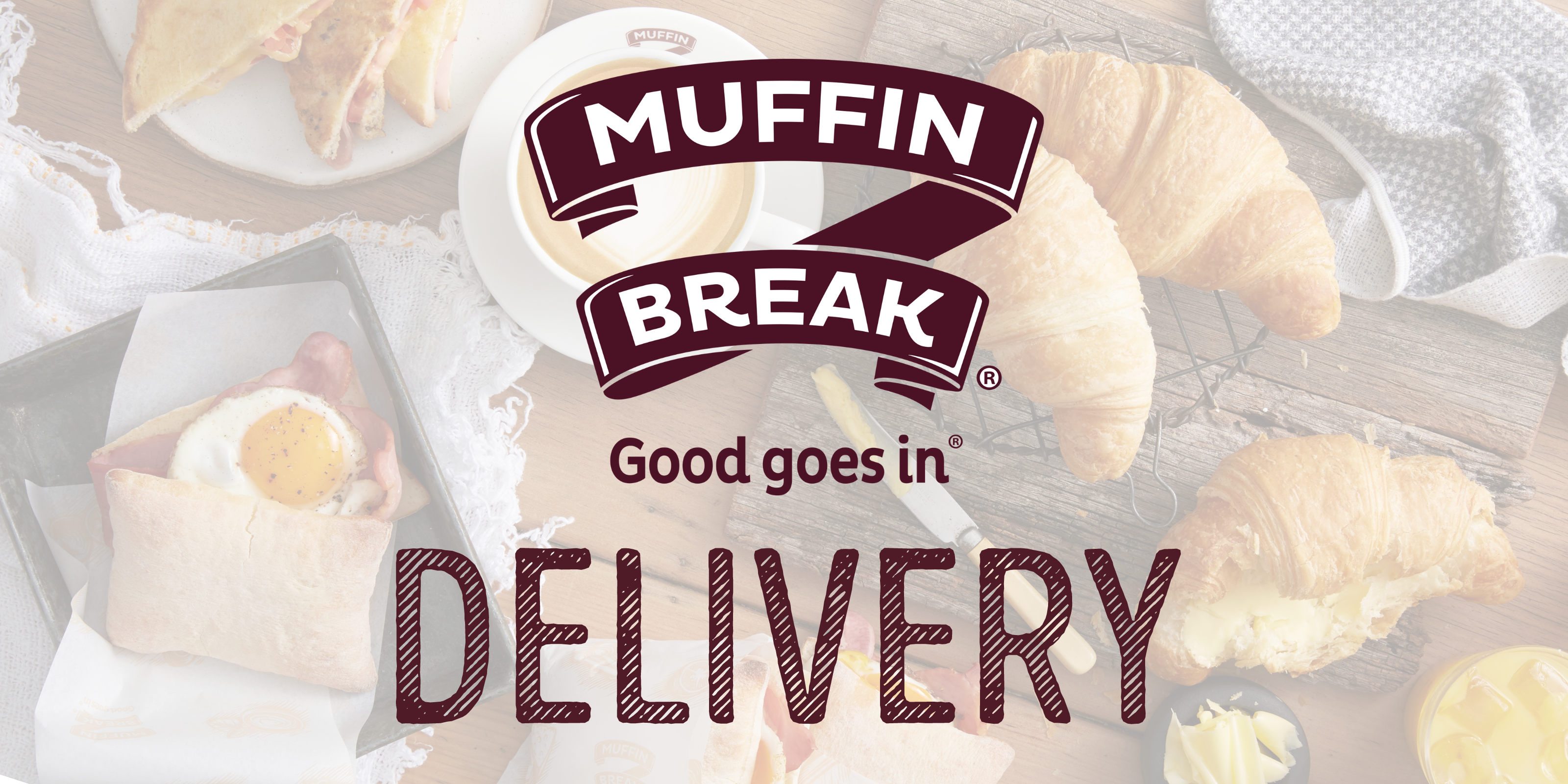 Muffin Break now offering Delivery!