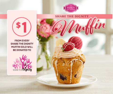 Share the Dignity Muffin